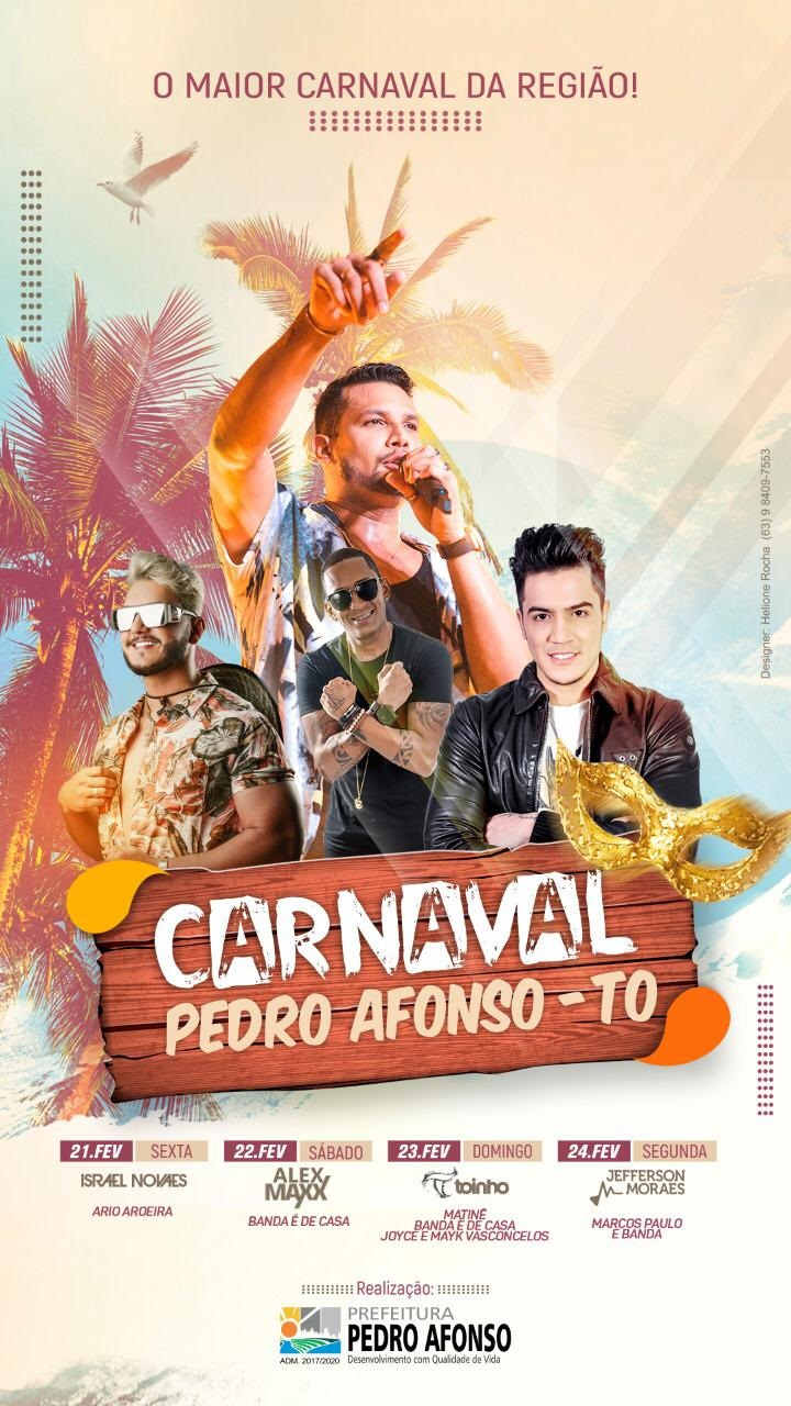 Carnaval Pedro Afonso 2020